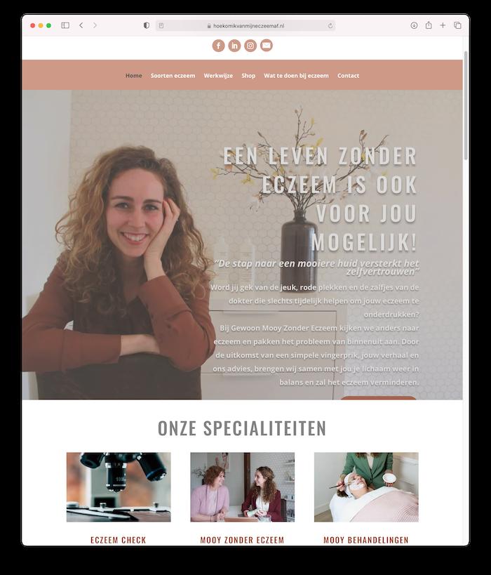 Website van Exceem af