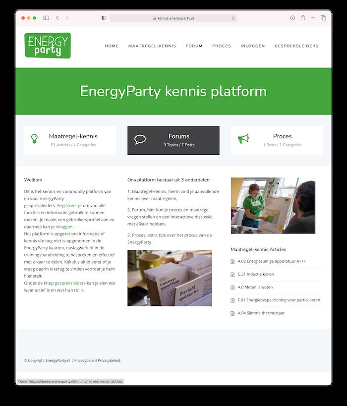 Website energy kennisbank